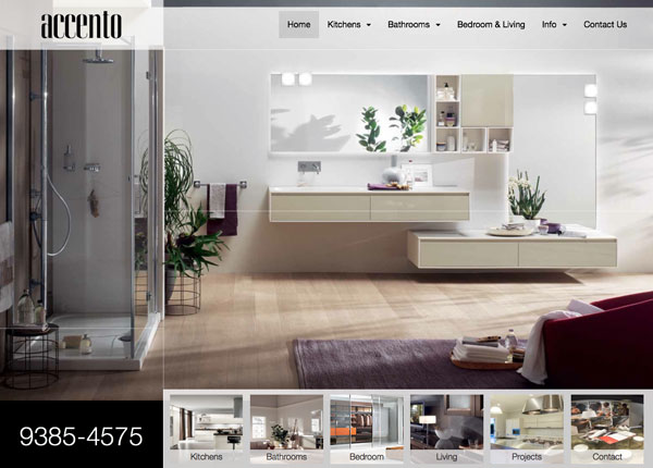 Accento Perth Luxury Italian Kitchens Bathrooms Living Renovations Perth