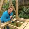 DIY Castle cubby-house